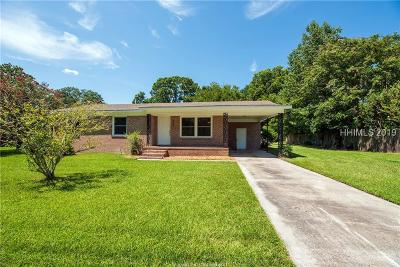 Beaufort Single Family Home For Sale: 2309 Southside Boulevard