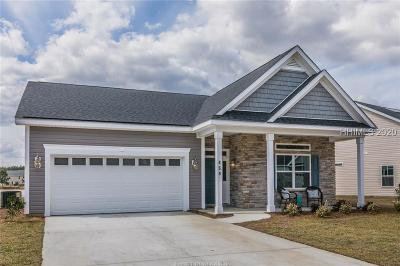 Hardeeville Single Family Home For Sale: 459 Fort Sullivan Drive