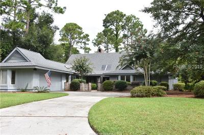Hilton Head Island Single Family Home For Sale: 21 Oyster Bay Place