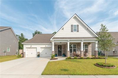Bluffton Single Family Home For Sale: 92 Bridgeton Drive
