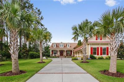 Bluffton Single Family Home For Sale: 15 Anchor Cove Court