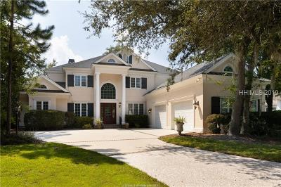 Hilton Head Island Single Family Home For Sale: 3 Club Manor