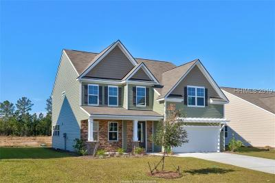 Bluffton Single Family Home For Sale: 465 Hulston Landing Road
