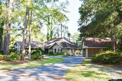 Hilton Head Island Single Family Home For Sale: 53 Savannah Trail
