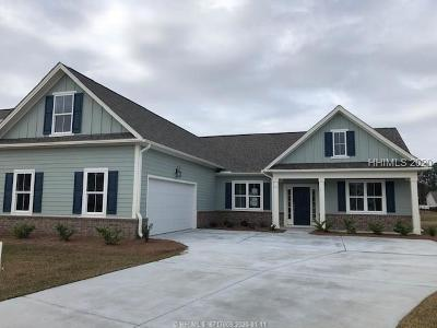 Beaufort County Single Family Home For Sale: 17 Lawton Pond Lane