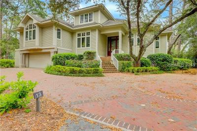 Hilton Head Island Single Family Home For Sale: 13 Belted Kingfisher