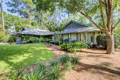 Hilton Head Island Single Family Home For Sale: 6 Cypress Marsh Drive