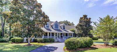 Hilton Head Island Single Family Home For Sale: 33 Outpost Lane