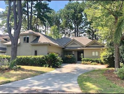 Hilton Head Island Single Family Home For Sale: 5 Country Club Court