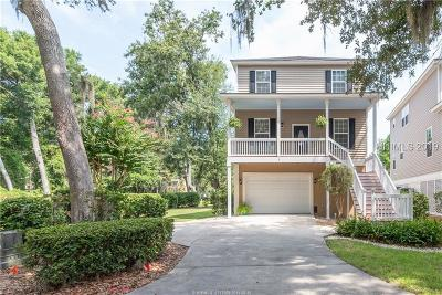 Hilton Head Island Single Family Home For Sale: 3 Gold Oak Court