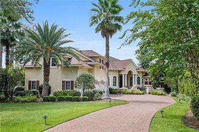 Bluffton Single Family Home For Sale: 10 Berwyn Circle