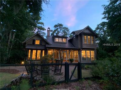 Bluffton SC Single Family Home For Sale: $1,395,000
