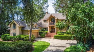 Hilton Head Island Single Family Home For Sale: 30 Long Brow Road