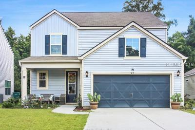 Bluffton Single Family Home For Sale: 25 Pioneer Point