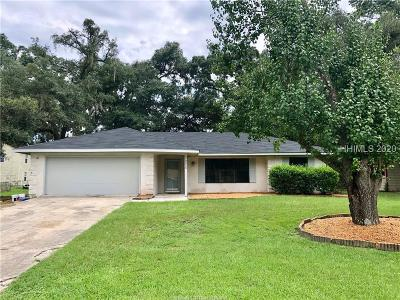Beaufort Single Family Home For Sale: 3026 Ratel Drive