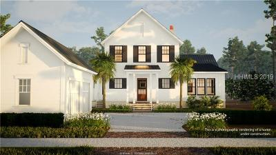 Bluffton SC Single Family Home For Sale: $934,990