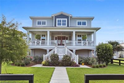 Hilton Head Island SC Single Family Home For Sale: $669,000