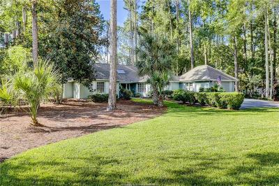 Beaufort County Single Family Home For Sale: 9 Sweetwater Lane