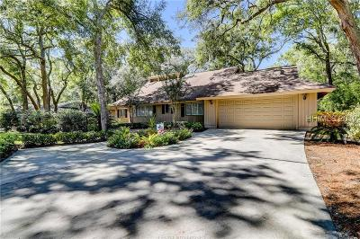 Hilton Head Island Single Family Home For Sale: 15 Crooked Pond Dr