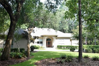 Beaufort County Single Family Home For Sale: 19 Crooked Pond Drive