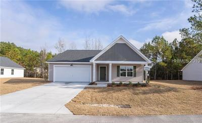 Jasper County Single Family Home For Sale: 529 Ridgeland Lakes Drive