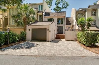 Hilton Head Island Single Family Home For Sale: 18 Spinnaker Court