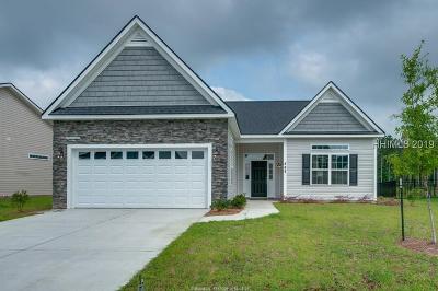 Hardeeville Single Family Home For Sale: 512 Fort Sullivan Drive