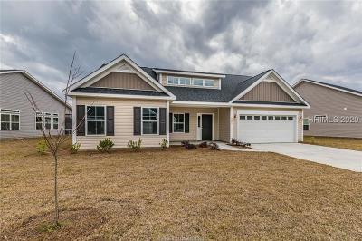 Hardeeville Single Family Home For Sale: 487 Fort Sullivan Drive