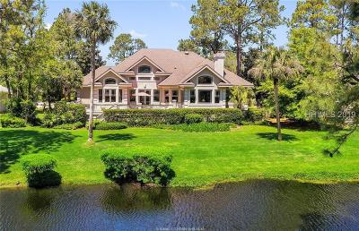 Hilton Head Island Single Family Home For Sale: 9 Wexford Club Drive
