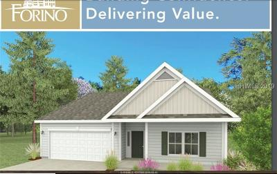 Hardeeville Single Family Home For Sale: 534 Fort Sullivan Drive