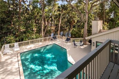Hilton Head Island Single Family Home For Sale: 21 Saint George Road