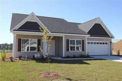 Hardeeville Single Family Home For Sale: 523 Fort Sullivan Drive