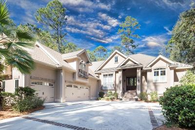 Hilton Head Island Single Family Home For Sale: 23 Long Brow Road