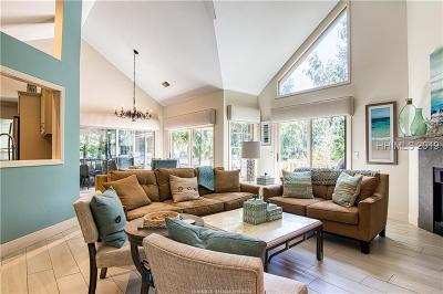 Hilton Head Island Single Family Home For Sale: 14 Shell Ring Road