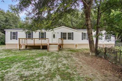 Hardeeville Single Family Home For Sale: 171 School Cut Road