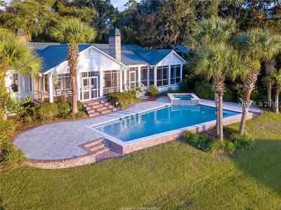 Beaufort Single Family Home For Sale: 107 S Hermitage Road
