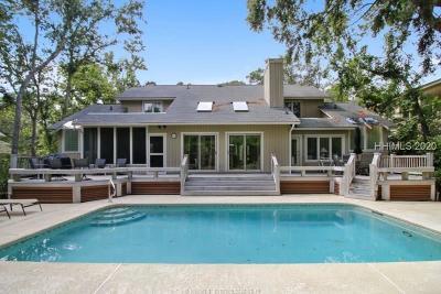 Hilton Head Island Single Family Home For Sale: 84 Mooring Buoy