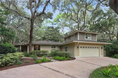 Hilton Head Island Single Family Home For Sale: 8 Baynard Cove Road