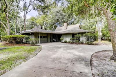 Hilton Head Island Single Family Home For Sale: 38 Off Shore