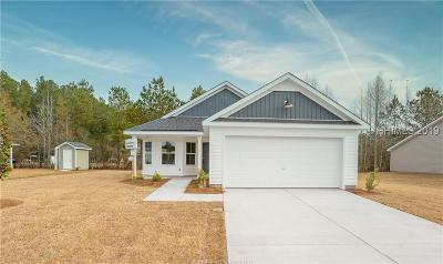 Jasper County Single Family Home For Sale: 507 Ridgeland Lakes Drive