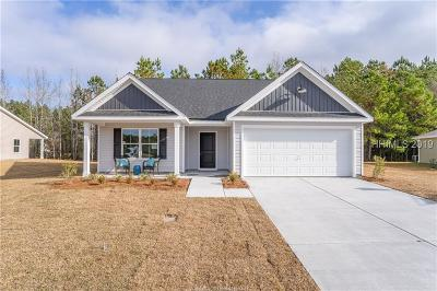Jasper County Single Family Home For Sale: 549 Ridgeland Lakes Drive