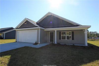 Jasper County Single Family Home For Sale: 402 Ridgeland Lakes Drive