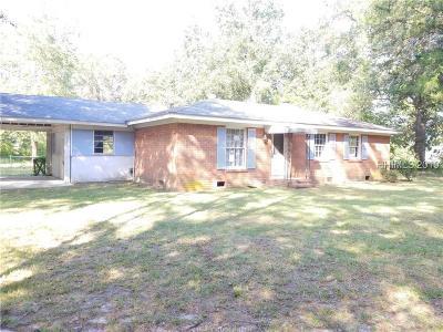 Jasper County Single Family Home For Sale: 8503 Tarboro Road