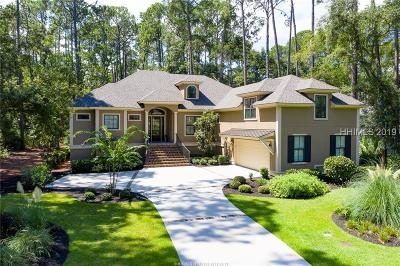 Hilton Head Island Single Family Home For Sale: 3 Gracefield Road