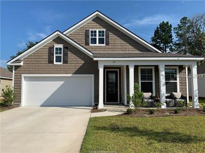 Bluffton SC Single Family Home For Sale: $307,000