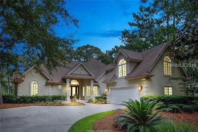 Hilton Head Island Single Family Home For Sale: 8 Shaftsbury Lane