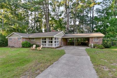 Beaufort Single Family Home For Sale: 2503 Hermitage Road