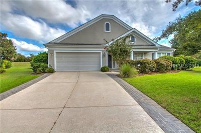 Bluffton Single Family Home For Sale: 9 Geranium Court