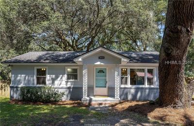 Beaufort Single Family Home For Sale: 1023 Hodge Drive