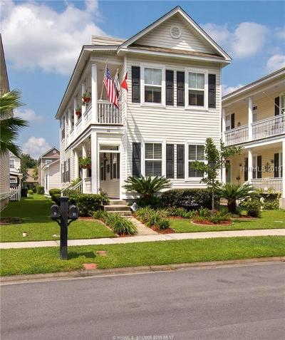 Bluffton Single Family Home For Sale: 11 Abbey Avenue